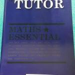 ►เดอะติวเตอร์◄ MA 5773 หนังสือสรุปสูตรคณิตศาสตร์ ม.ปลาย Maths Essential มี Trick เทคนิคลัด และข้อควรรู้ที่น่าสนใจมากมาย เนื้อหาตีพิมพ์สมบูรณ์ทั้งเล่ม หนังสือใหม่เอี่ยม ไร้รอยขีดเขียน หนังสือมีขนาด 18 *26 * 0.6 ซม.