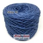ไหม Cotton Shiny รหัสสี 40 สีน้ำเงินยีนส์