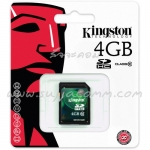 "SD Card 4GB ""Kingston"" (SD10V, Class 10)"