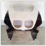 หน้ากาก NSR-R สีดำ/ขาว