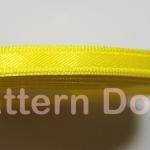 ริบบิ้นผ้าซาติน 5 mm code 52 สีเหลือง