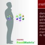 บรรยายงานผลิตภัณฑ์ FoodMatrix และ วีว่าพลัส โดย พญ.รัสรินทร์ ชุติพัฒน์รังสี