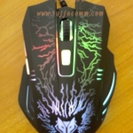 "USB Optical Mouse ""NUBWO"" (NM-68) Gaming ( ไฟ 7 สี )"
