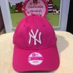 (พรีออเดอร์ )New Era NY 9Forty Cap Pink