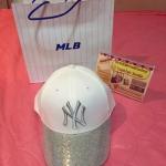 หมวก MLB KOREA สีขาวเงิน พร้อมส่ง