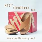**พร้อมส่ง** รองเท้า FitFlop KYS (leather) : TAN : Size US 9 / EU 41