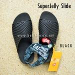 **พร้อมส่ง** New 2015 !! FitFlop SUPERJELLY SLIDE : Black : Size US 5 / EU 36