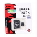 "Micro SD Card 16GB ""Kingston"" (SDC4)"