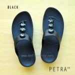 **พร้อมส่ง** PETRA : All Black : Size US 8 / EU 39