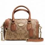 Coach Signature Baby Bennett Satchel Handbag # 35232 สี SADDLE