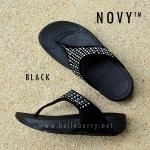 **พร้อมส่ง** FitFlop : NOVY : Black : Size US 7 / EU 38