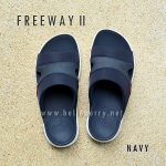 **พร้อมส่ง** FitFlop FREEWAY II : Navy : Size US 10 / EU 43
