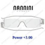 แว่นอ่านหนังสือ Nannini ทรงเล็ก เบอร์ +300