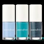 Preorder Innisfree Real color nail 리얼 컬러 네일 - 여름 6ml 3000won