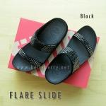 **พร้อมส่ง** FitFlop : FLARE SLIDE : Black : Size US 5 / EU 36