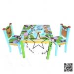 IFk00500 ชุดโต๊ะพร้อมเก้าอี้ รุ่นอะเมซอน (Amazon)