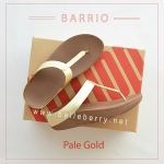 * NEW * FitFlop : BARRIO : Pale Gold : Size US 8 / EU 39