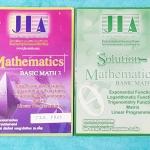 ►อ.เจี๋ย◄ JIA FR03 เซ็ท Basic Math 3 หนังสือเรียน+หนังสือเล่มเฉลย ในหนังสือเรียนมีสรุปสูตร+เนื้อหา โจทย์แบบฝึกหัด มีเทคนิคลัดของอาจารย์เยอะมาก จดครบเกือบทั้งเล่ม จดละเอียด จดเป็นระเบียบ มีจดจุดที่ข้อสอบ ent ชอบออกสอบทุกปี และไม่ออกสอบ มีจดเน้นจุดที่ควรจำ