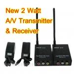 เครื่องส่งสัญญาณภาพและเสียงแบบไร้สาย Wireless 2.4 GHz 2 Watt ต่อทีวี/วีดีโอ/กล้อง ไม่ต้องเดินสาย