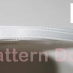 ริบบิ้นผ้าซาติน 5 mm code 51 สีขาว