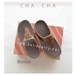 **พร้อมส่ง** FitFlop CHA CHA : Bronze : Size US 7 / EU 38