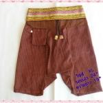 กางเกงเด็กทรงแม้วผ้าฝ้าย ไซส์ XL