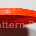 ริบบิ้นผ้าซาติน 5 mm code 4 สีส้ม