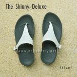 **พร้อมส่ง** ** The Skinny Deluxe : Silver : Size US 8 / EU 39