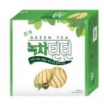 Pre Order / ขนมเกาหลี Green Tea choco Snack 253G