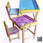 IFk008xx โต๊ะนักเรียนฝาเปิดรูปช้าง