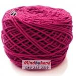 เชือกฟอก สี 23 สีชมพุเข้ม (บานเย็น)
