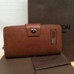 กระเป๋าสตางค์   Louis Vuitton งานสวยมาก หนังอย่างดี ช่องใส่บัตรเยอะ  ขนาด  4x7.5  นิ้ว สีน้ำตาลเข้ม