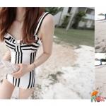 One piece Swimsuit | ชุดว่ายน้ำวันพีซสไตล์เกาหลี