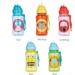 ขวดน้ำ Skip Hop Zoo Straw Bottle