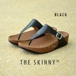 **พร้อมส่ง** รองเท้า FitFlop THE SKINNY : BLACK : Size US 8 / EU 39