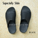 **พร้อมส่ง** New 2015 !! FitFlop SUPERJELLY SLIDE : Black : Size US 7 / EU 38