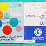 ►ครูพี่แนน Enconcept◄ ENG 200T เซ็ท Reading + Cloze Test +Conversation ม.ต้น 2 เล่ม ประกอบด้วยหนังสือเรียน 1 เล่ม หนังสือแบบฝึกหัด 1 เล่ม ในหนังสือเรียนมีจดเล็กน้อย มีเทคนิคในการทำโจทย์และข้อสอบเยอะมาก มีแนวโจทย์หลายเลเวล หลายระดับตั้งแต่ Basic จนถึง Supe