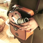Pre Order / time cube_Mirrorless (natural cowhide leather finish)