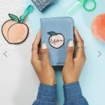 Skinnydip Peachy Passport Holder & Luggage Tag Set