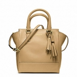 COACH LEGACY LEATHER MINI TANNER # 48894 สี BRASS / SAND