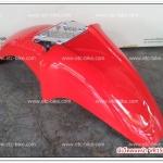 บังโคลนหน้า VR150, TZR150 สีแดง