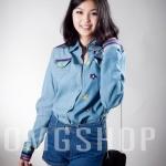 [[พร้อมส่ง]] TopJeans0259 เสื้อยีนส์แขนยาวปักลายดอกไม้น่ารักๆ มี 2 สี นะค่ะ / สีอ่อน