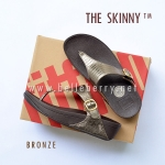 * NEW * FitFlop The Skinny : Bronze : Size US 5 / EU 36