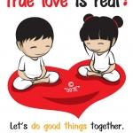 """คิดดี 007E """"True love is real!"""""""