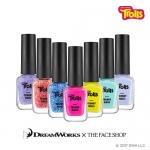 Preorder The Face Shop Trolls Trendy Nails 트렌디 네일즈_ 트롤 에디션 4000won