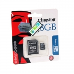"Micro SD Card 8GB ""Kingston"" (SDC4)"