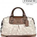 Coach Ashley 3 Color Signature Large Satchel # 18437