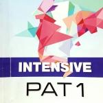 หนังสือกวดวิชา BTS พี่ท็อปปิ้ง Intensive PAT 1 ตะลุยข้อสอบคณิตศาสตร์แพท 1 จดเกินครึ่งเล่ม มีข้อสอบทั้งหมด 14 ชุด