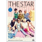 Pre Order / นิตยสารเกาหลี THE STAR 2015.08 หน้าปก TEENTOP ด้านในมี nam ju hyuk