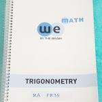 ►We Brain◄ MA FR35 หนังสือกวดวิชา คณิตศาสตร์ ม.5 ฟังก์ชั่นตรีโกณมิติ และการประยุกต์ มีสรุปเนื้อหา สูตรสำคัญ ก่อนตะลุยทำโจทย์แบบฝึกหัด มีข้อควรรู้ ข้อควรระวัง เทคนิคลัดเยอะมาก จดครบเกือบทั้งเล่ม จดละเอียด โจทย์ Assignment มีเฉลยละเอียดและวิธีทำละเอียด เล่ม